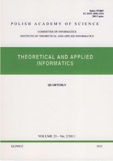 Theoretical and Applied Informatics