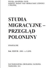Studia Migracyjne - Przegląd Polonijny