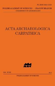 Acta Archaeologica Carpathica