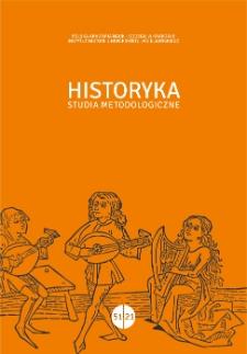 Historyka Studia Metodologiczne
